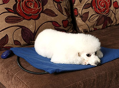 flymei heating pads for pets with chew resistant cord soft removable cover waterproof electric. Black Bedroom Furniture Sets. Home Design Ideas
