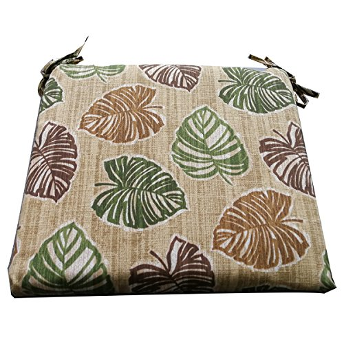 Nattork Floral Cushions For Outdoor Furniture Not Fade,Water-Resistant & Uv-Resistant Seat Cushions With Ties For Chairs,Ideal For Patio Wicker Furniture,Dining Room Chairs (Room Furniture Dining Wicker)