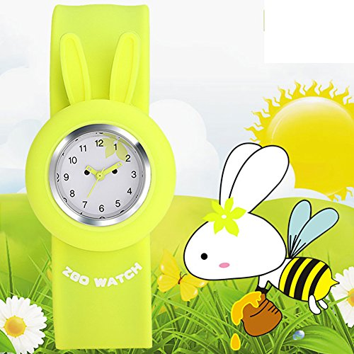 Girls waterproof cute girl pupils watch/POPs toy Pat quartz jelly watch-D (Watch Watch Chrono Sport Toy)