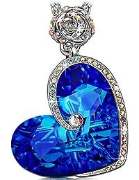 Rose Heart Necklace ♥Buy 1, Save USD 13 - F4CAMVAS♥...