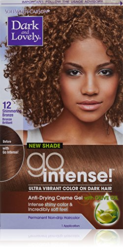 Dark and Lovely Go Intense Hair Color - #12 Shimmering Bronze