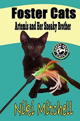 Foster Cats: Artemis and Her Sneaky Brother (A Happy Jack Cats -