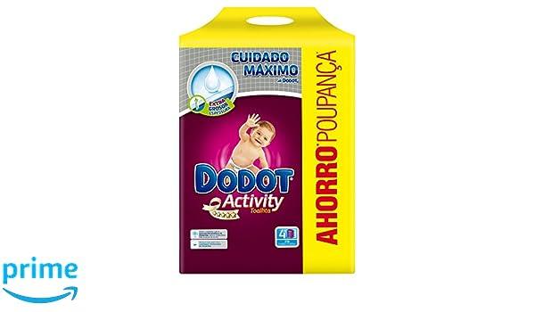 Dodot Activity Toallitas - Paquete de 4 x 54 Toallitas - Total 216 toallitas: Amazon.es: Amazon Pantry