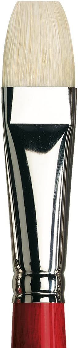 Flat with European Sizing da Vinci Hog Bristle Series 7023 Maestro 2 Artist Paint Brush Size 2
