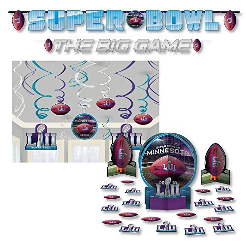 NFL Super LII Bowl 52 LII B07F8FGLD7 Party Supplies Decoration Kit Kit [並行輸入品] B07F8FGLD7, アスリートトライブ:bed8005d --- imagenesgraciosas.xyz