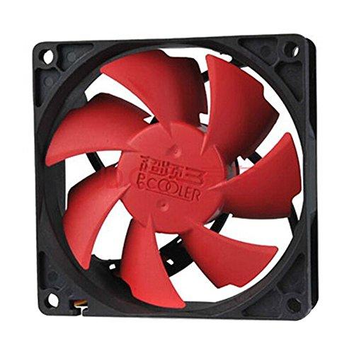 100 Fan Mm - PcCooler F105,100mm/10cm Quiet Fan, Single Fan, Washable, Super Mute, for Power Supply, for Computer Case Cooler by Tekit