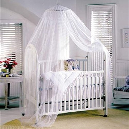 Shinena Mosquito Net for Baby Toddler Bed Crib Canopy Nettin