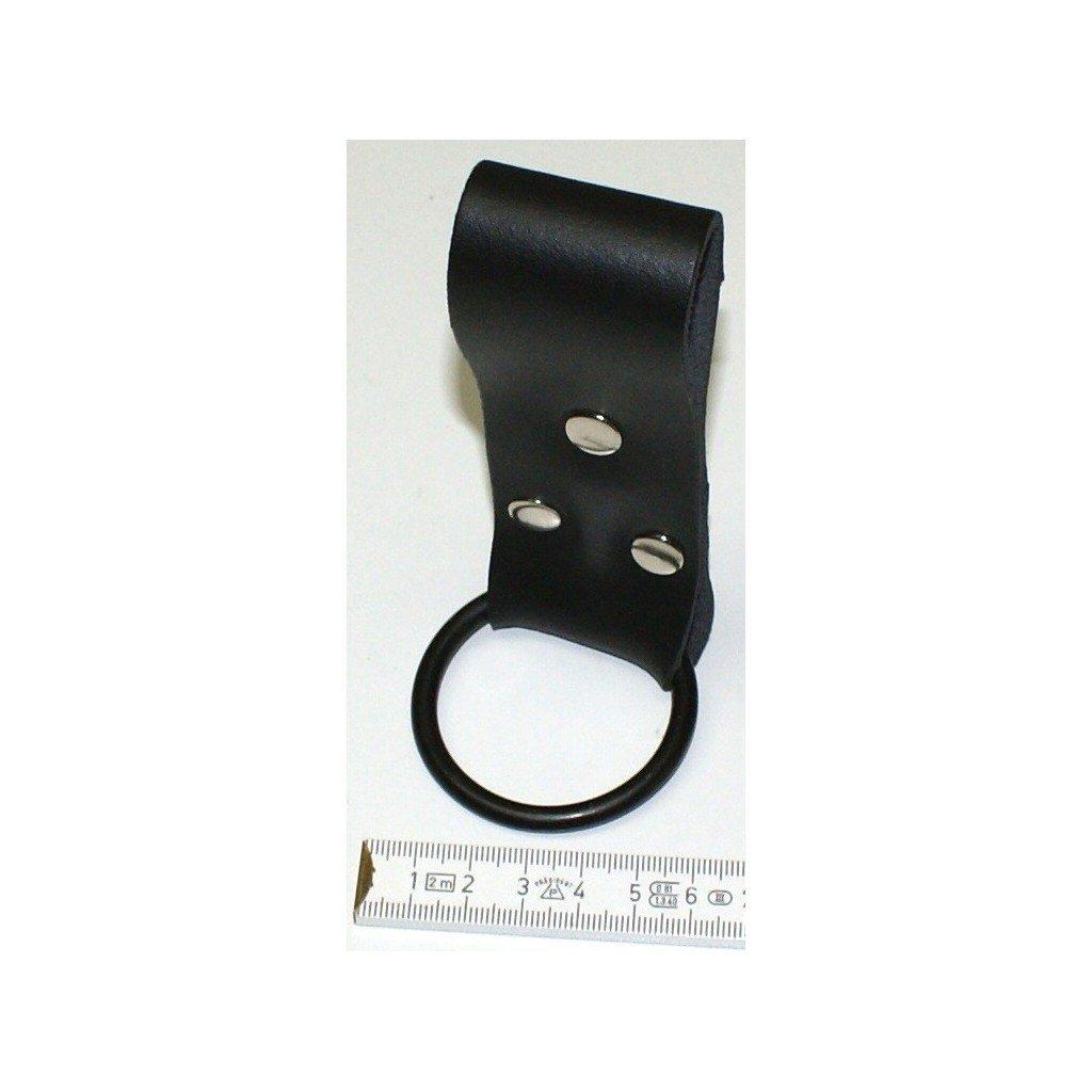 Juego de 2 soportes para martillos, llaves, linternas acero) y otras herramientas (piel con anillo de acero) linternas 4ef97b