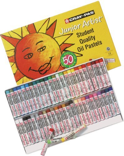 Brand New Cray-Pas Junior Artist Oil Pastels-50/Pkg Brand New