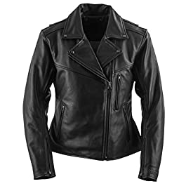 Black Brand Women's Leather Enchantress Motorcycle Jacket
