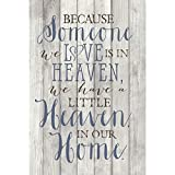 Because Someone We Love…New Horizons Wood Plaque with Easel