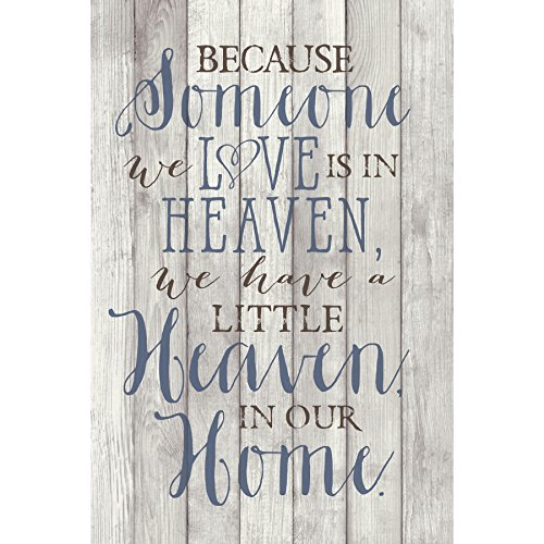- Dexsa Because Someone We Love...New Horizons Wood Plaque with Easel