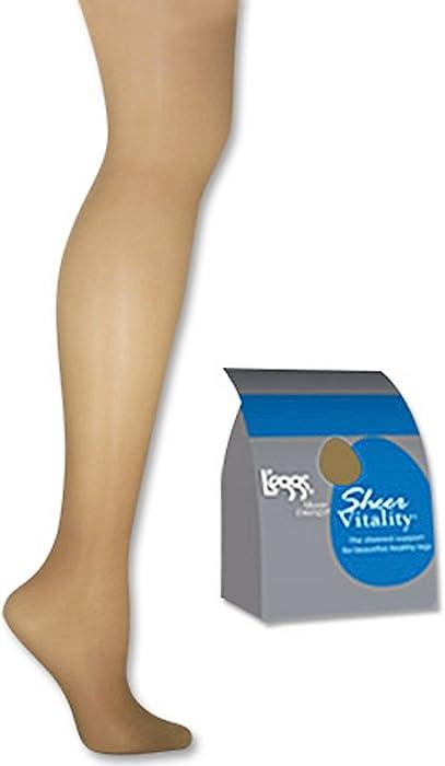 4b546b5b40e Amazon.com  Sheer Energy Light Support Leg Control Top