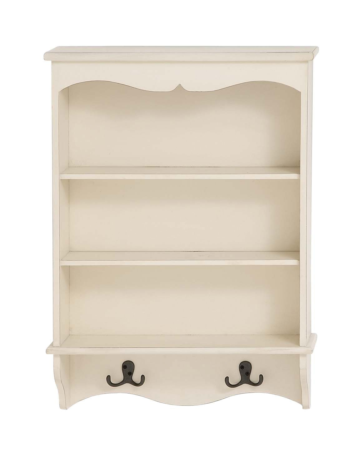 Deco 79 96287 Wood Wall Shelf with Hook, 19 by 26''