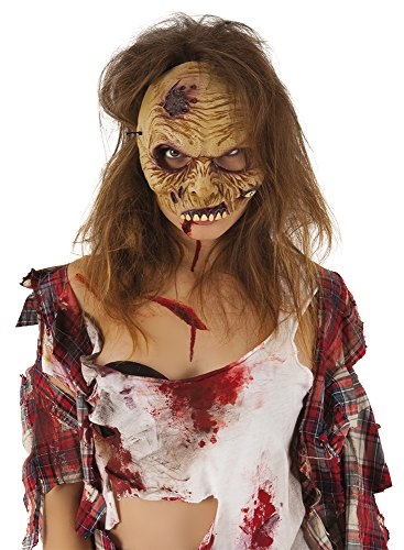 Zombies - Mascara de zombie media cara (Rubies Spain S5