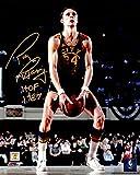 Rick Barry Autographed Photograph - Under Free Throw 8x10 w HOF 1987 - Autographed NBA Photos