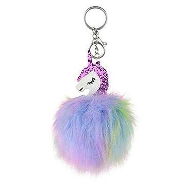 Keychain Schlüsselanhänger Schlüsselring Tasche 1 Pc Plüsch Kugel Handtasche