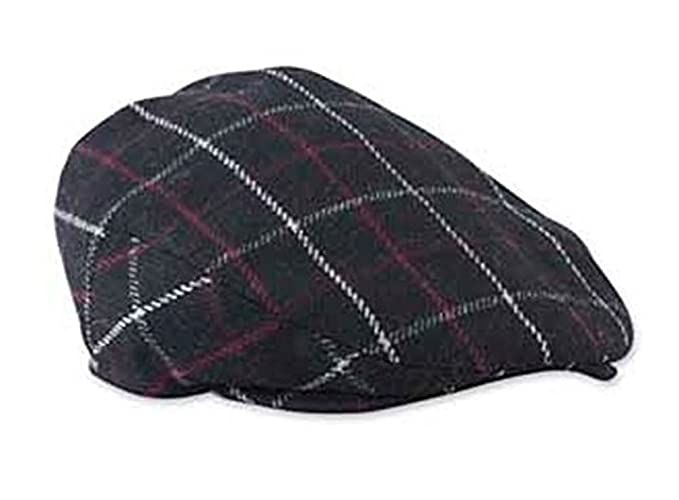 Image Unavailable. Image not available for. Color  Baby Boys Dark Gray  Plaid Golfers Hat (12-24 months) 4dad48fe6275