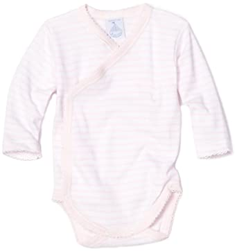 c801ad3bb Amazon.com: Babidu Baby-girls Newborn Long Sleeved Body Suit, Pink ...