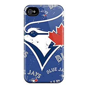Shockproof Cell-phone Hard Covers For Iphone 6plus (BAo7185ILEI) Allow Personal Design Stylish Toronto Blue Jays Image