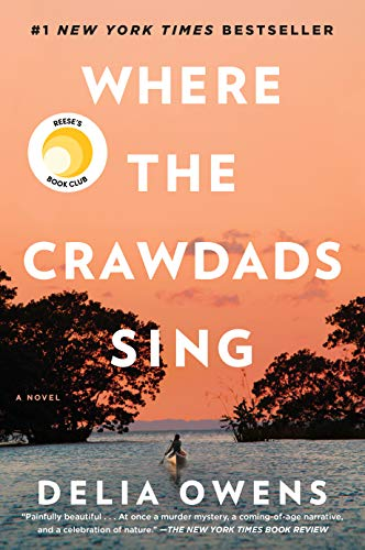 Book cover from Where the Crawdads Sing by Delia Owens