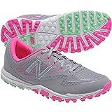New Balance Women's nbgw1006 Golf Shoe, Grey/Pink, 7.5 B US