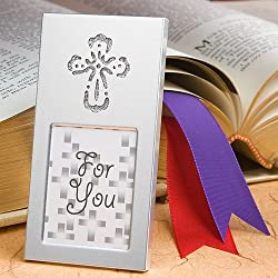 Shining Cross picture frame (Set of 6) - Wedding Party Favors