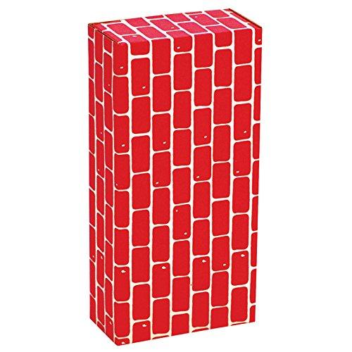 (Smart Monkey Toys Giant Imagibrick Blocks; One Size/Red Blocks; 16 Per Set; no. IMA1016 )
