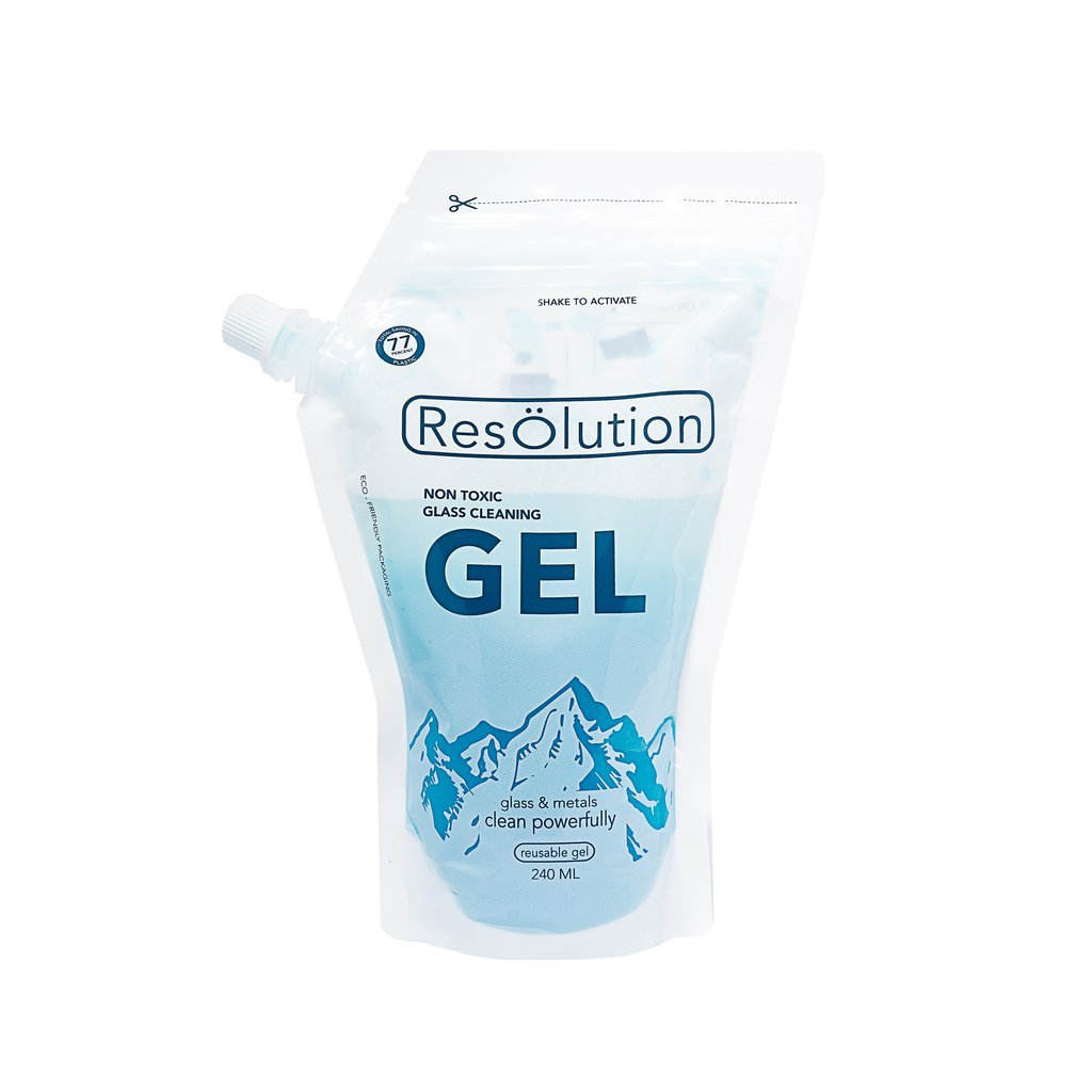 Res Gel Non-Toxic Glass and Metal Pipe Cleaner by ResOlution