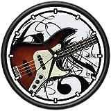 BASS GUITAR Wall Clock band music musician electric