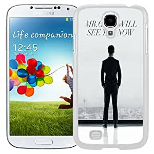 Beautiful Unique Designed Samsung Galaxy S4 I9500 i337 M919 i545 r970 l720 Phone Case With Mr. Grey Will See You Now Fifty Shades Of Grey_White Phone Case