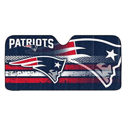 NFL New England Patriots Universal Auto Shade, -