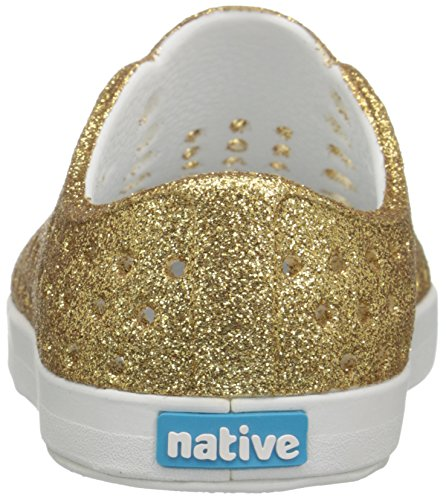 K Native Shell Child Jefferson Glitter Gold Bling Kids Bling White Girls' qwPrpXw