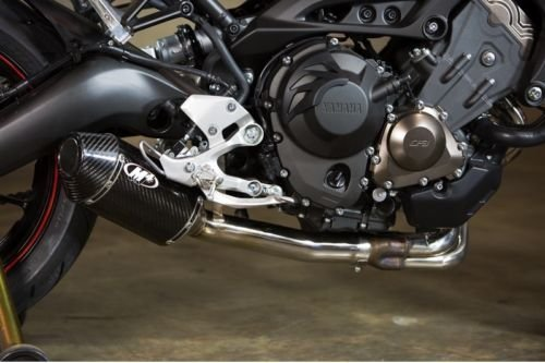 (14-17 YAMAHA FZ-09: M4 Standard Slip-On Exhaust (Carbon Fiber))