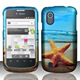 For ZTE Concord V768 (T-Mobile) Rubberized Design Cover Case – Star Fish, Best Gadgets