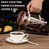 French Press Coffee Maker (34 oz) with 4