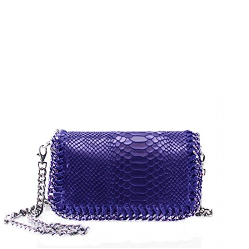 Blue bag Leather New Chain Ladies Real Body Design Shoulder YDezire® Cross Bag Work Womens Royal 16vWSq7wF
