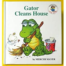 Gator Cleans House - (Panorama Book with 4 Collector Cards)