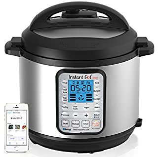 Instant Pot Smart Bluetooth 6 Qt 7-in-1 Multi-Use Programmable Pressure Cooker, Slow Cooker, Rice Cooker, Yogurt Maker, Sauté, Steamer, and Warmer (Product Discontinued) (B00N310CKG) | Amazon price tracker / tracking, Amazon price history charts, Amazon price watches, Amazon price drop alerts