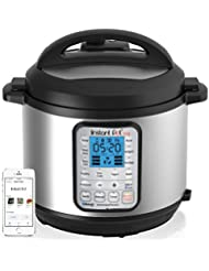 Instant Pot Smart Bluetooth 6 Qt 7-in-1 Multi-Use Programmable Pressure Cooker, Slow Cooker, Rice Cooker, Yogurt Maker, Sauté, Steamer, and Warmer