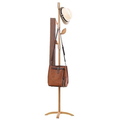 Amazon.com: Sombrero de pie y abrigo en forma de hoja ...