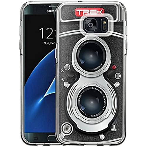 Samsung Galaxy S7 Edge Case, Snap On Cover by Trek New York Tag One Piece Trans Case Sales