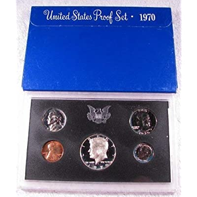 1970 United States Proof Set in Original Box: Toys & Games