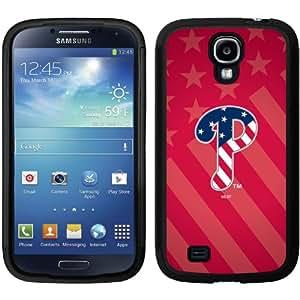 Philadelphia Phillies - USA Red design on a Black Samsung Galaxy S4 Guardian Case