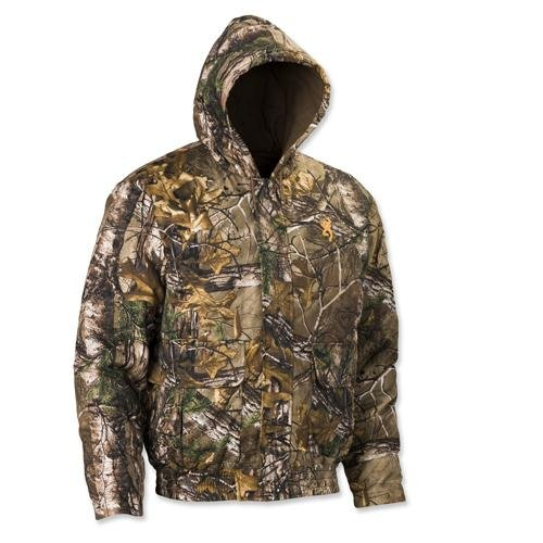 Browning Wasatch Hooded Insulated Jacket, Mossy Oak Break-Up Country, Medium