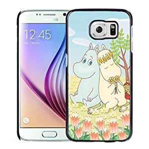 New Personalized Custom Designed For Samsung Galaxy S6 Phone Case For Cartoon Hippo and Horse Phone Case Cover