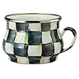 MacKenzie-Childs Enamelware Courtly Check Teacup