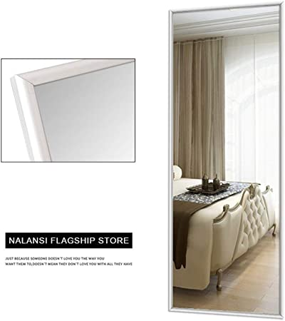 SDK Espejo de tocador Suelo, Estilo nórdico, Simple, para el hogar, para Dormitorio Femenino, Grande o Largo, Espejo de Cuerpo Completo, Espejo de Longitud Completa: Amazon.es: Hogar