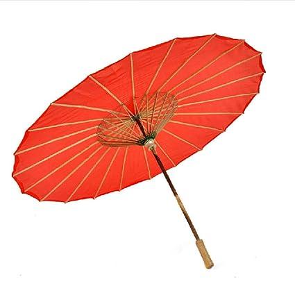magasin d'usine e8564 85cf2 Porte-parapluies Parapluie Rouge Couleur Unie Parapluie ...