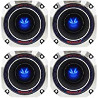 (4) Rockville RT4 2 8-Ohm CEA-2031 Compliant 120 Watt Peak / 60 Watt RMS Each Titanium Compression Horn Tweeters With Ferro Fluid Voice Coil Cooling